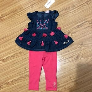 Juicy Couture- Baby girl 2 pcs outfit